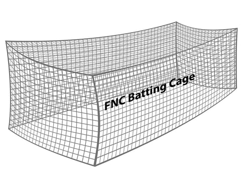 Baseball Batting Cage Net (#48 Nylon)