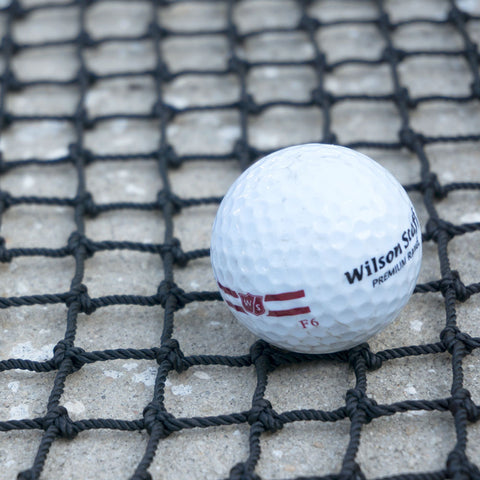 "High Impact Pro Golf Backstop Net #24 Nylon 3/4"" Mesh"