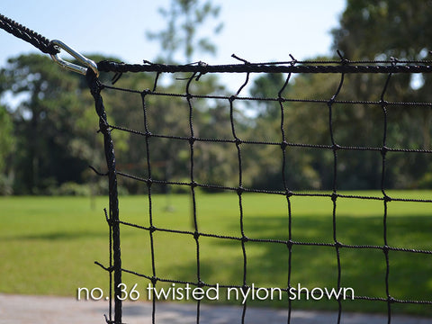 [TEST] Baseball Barrier Net Panel No.36 Nylon Black