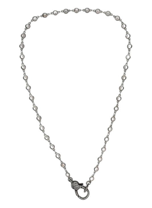CZ Chain with Lobster Clasp