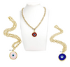 Evie's Everlasting Evil Eye Necklace