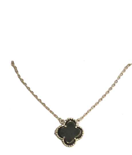 black clover necklace