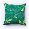 green Garden Throw Pillow Cover
