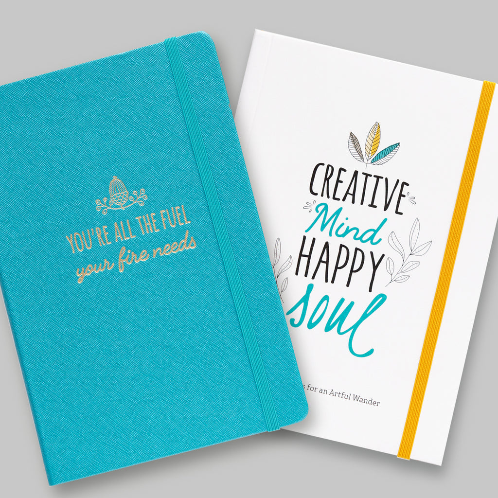 The Creative Notebook gives you everything you need to create a Happy Soul