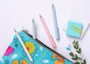 A clip will help secure to your journal, doodle book or planner.