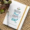 Self Care Journal book give you a place to help calm your mind, improve your focus and help you to sleep better.
