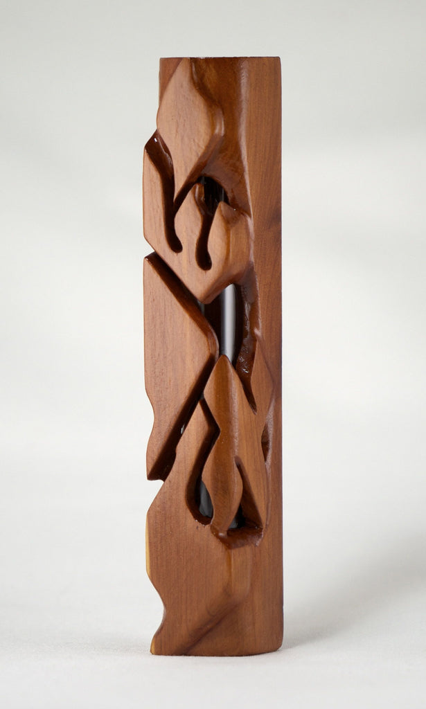 Eastern Red Cedar Yisroel Mezuzah Case