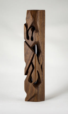 Walnut Yisroel Mezuzah Case