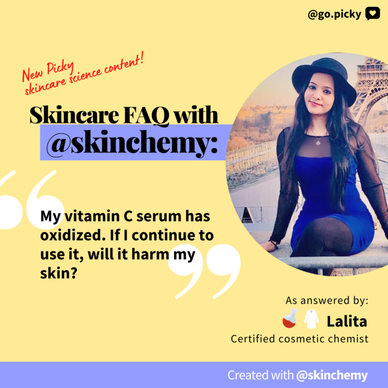 Skincare FAQ With @Skinchemy: On Oxidized Vitamin C Serums