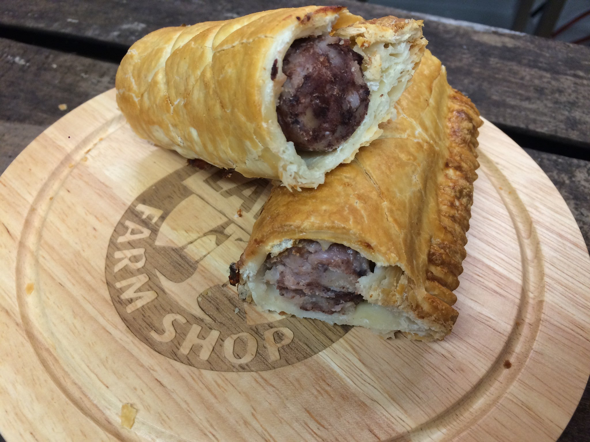Black Pudding Sausage Roll
