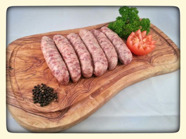 Old Yorkshire Sausages (6 per pack)