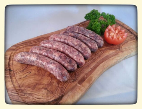 Pork & Black Pudding Sausages (6 per pack)