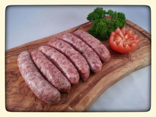 Traditional Plain Pork Sausages (6 per pack)