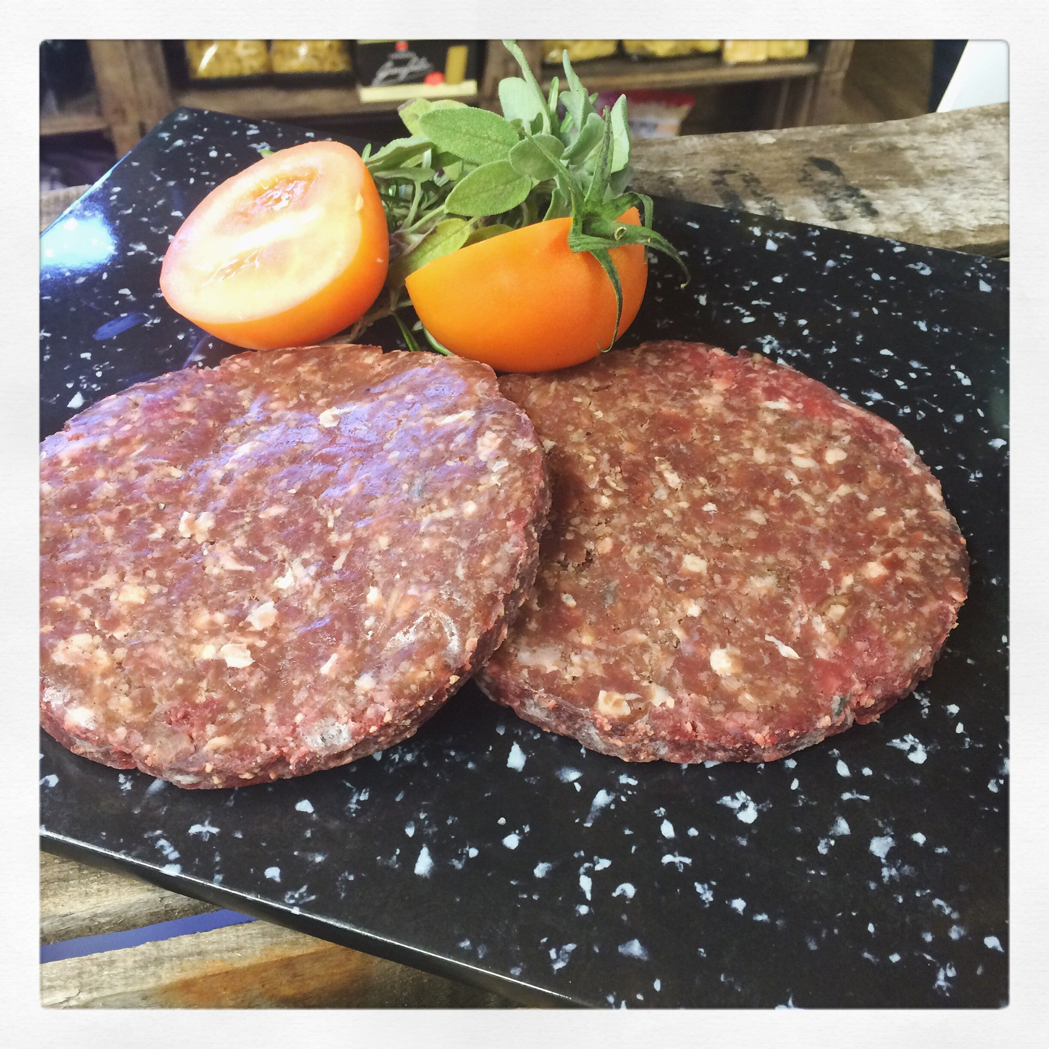 Lawns Farm Beef  Burgers