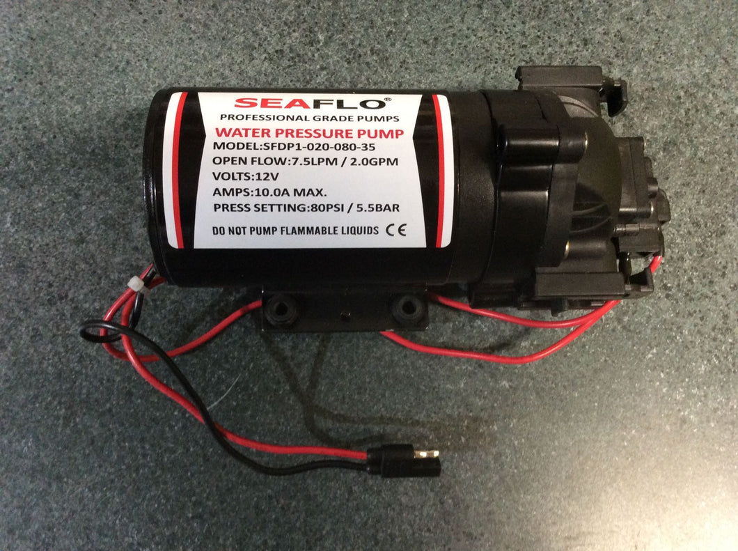 Seaflo 12V 7.6LPM / 80PSI Spray Pump