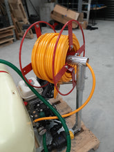 Load image into Gallery viewer, 100mtr P/C Red Skid  Mounted Hose reel