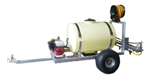 450ltr Petrol Trailer Mounted Sprayer  - 43ltrs per Min
