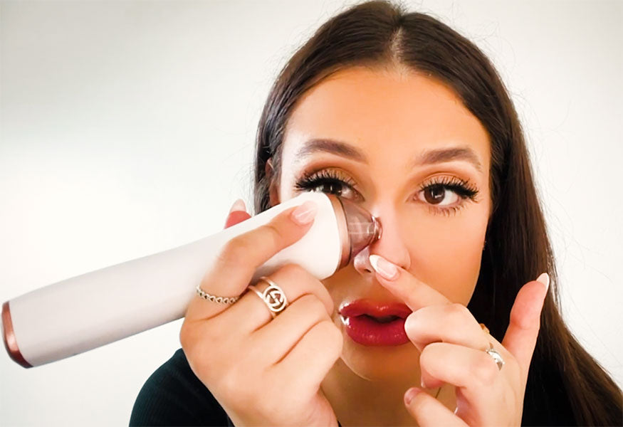 How to use the Skintecture at home Microdermabrasion kit