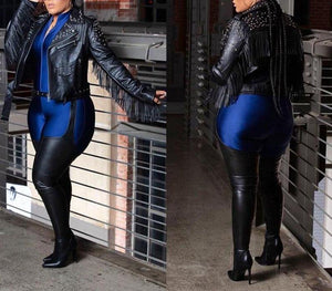 Sexy Belted Westloop Thigh High Stiletto Boots - Flexin' Swag