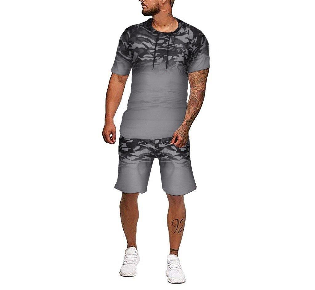 Tyler Hooded Shorts Sports Suit - Flexin' Swag