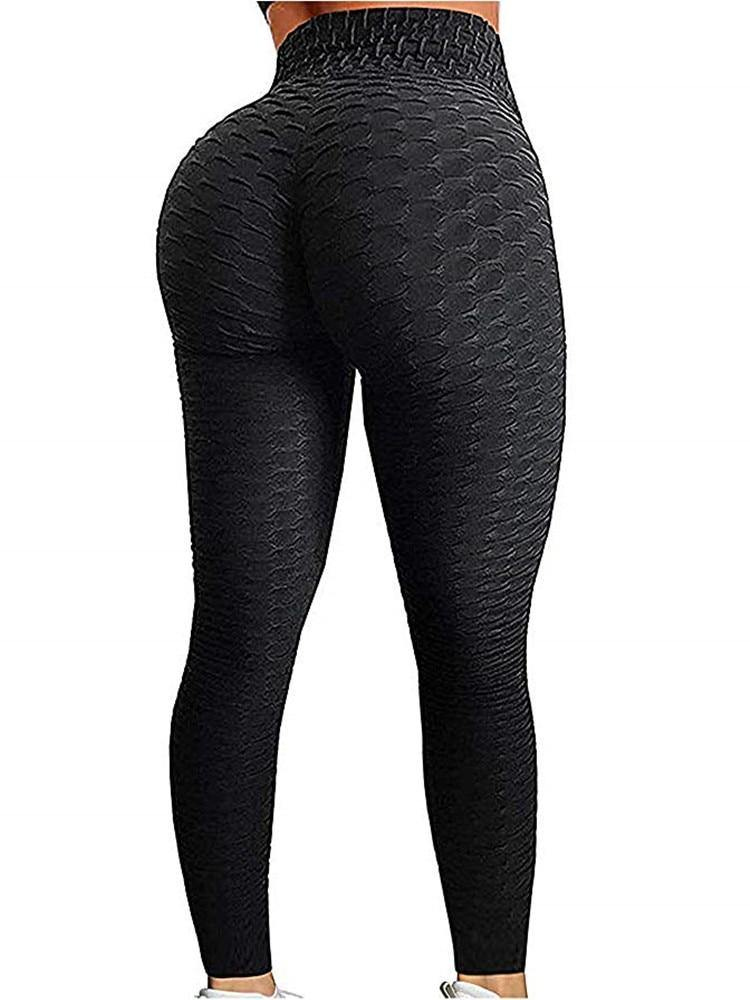 Push Up High-Waist Fitness Leggings - Flexin' Swag