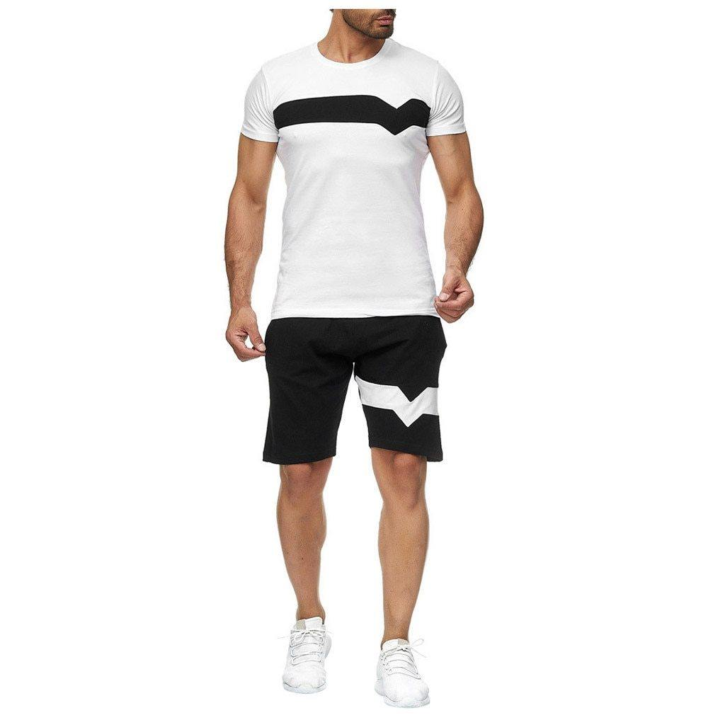 Kyle Short Sleeve Sports Set - Flexin' Swag