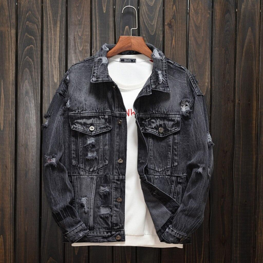 Casual Autumn/Winter Denim Jacket - Flexin' Swag