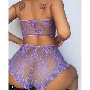 Kayla Exotic Two Piece Lingerie Set freeshipping - Flexin' Swag