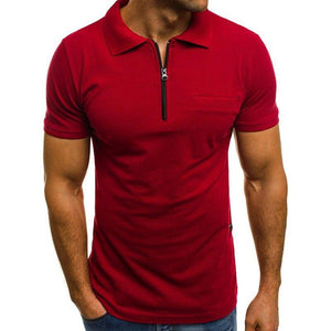 Kyle Solid Color Short Sleeve Shirt - Flexin' Swag