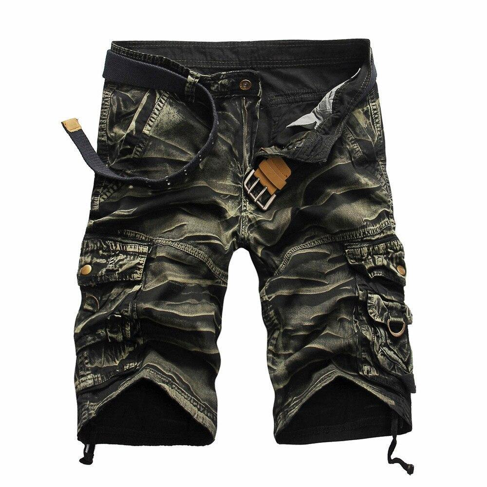 Leo Multi-Pocket Casual Jeans Shorts - Flexin' Swag