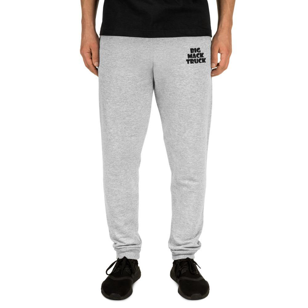 """Big Mack Truck"" Unisex Joggers with Black Letters - Flexin' Swag"