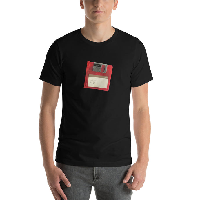 Save Button T-Shirt