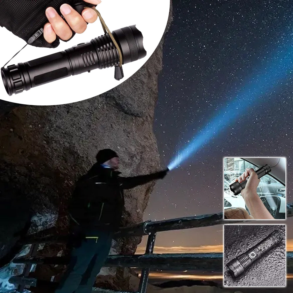 Waterproof Navy Dedicated Flashlight High Lumens