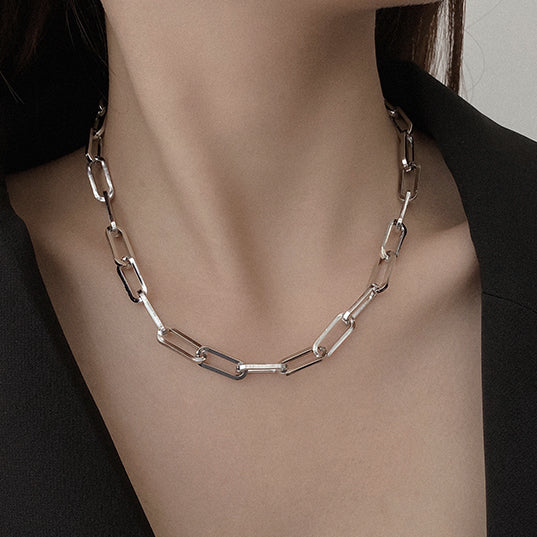 simple chain necklace  KSG161