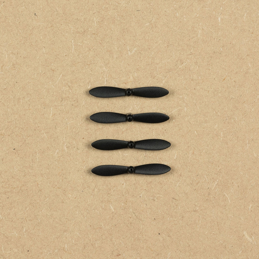 Replacement Rotor Blades for SKEYE Nano Drone (4x) (Black)