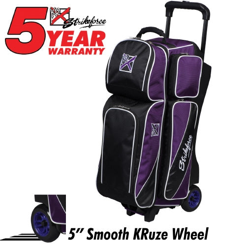 KR Strikeforce Fast Triple Roller Purple/Black