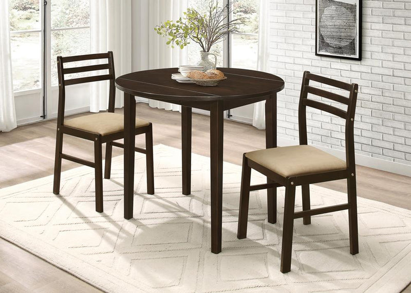 G130005 Casual Cappuccino Three-Piece Dining Set image