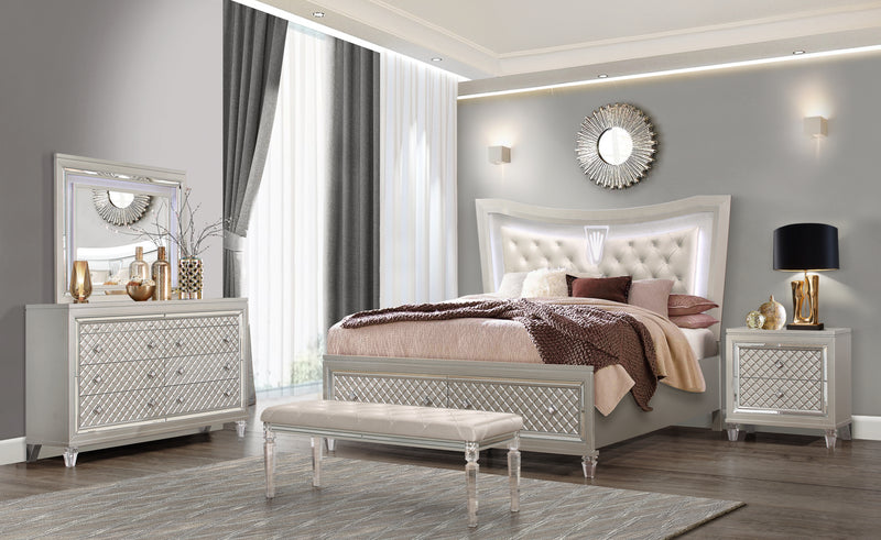 PARIS KING BED CHAMPAGNE image