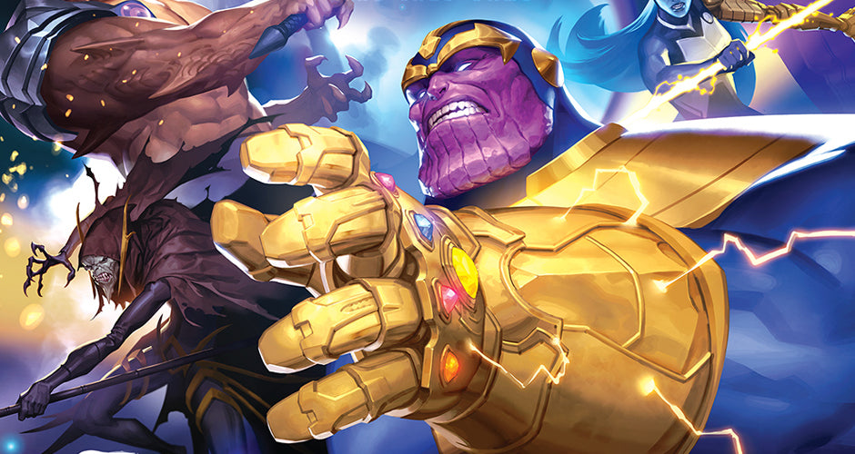 Marvel Champions: The Card Game - The Mad Titan's Shadow