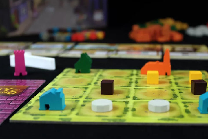 Tiny Towns Board Game Gameplay