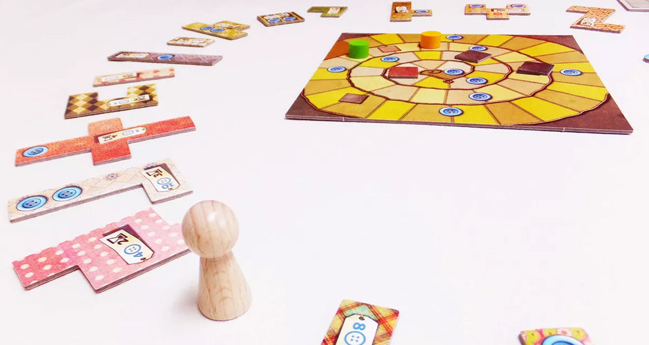 Patchwork Board Game Gameplay