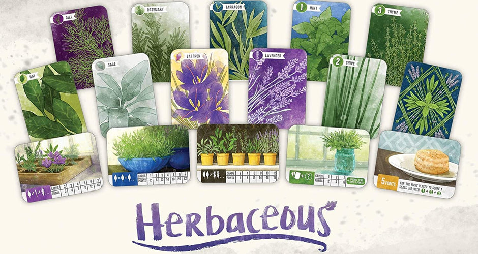 Herbaceous Card Game Components