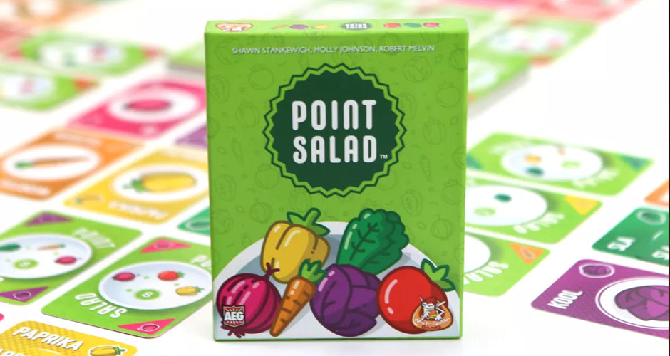 Point Salad Card Game Components