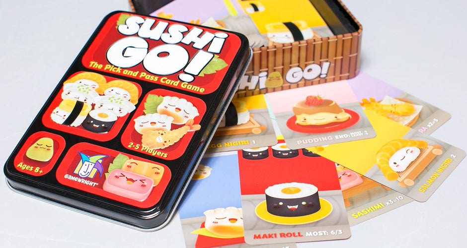 Sushi Go! Card Game Components
