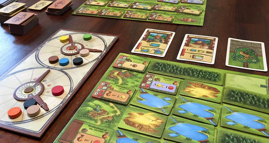 Glass Road Board Game Gameplay