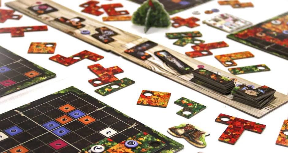 Indian Summer Board Game Gameplay