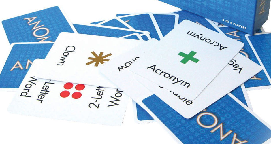 Anomia Party Game Cards