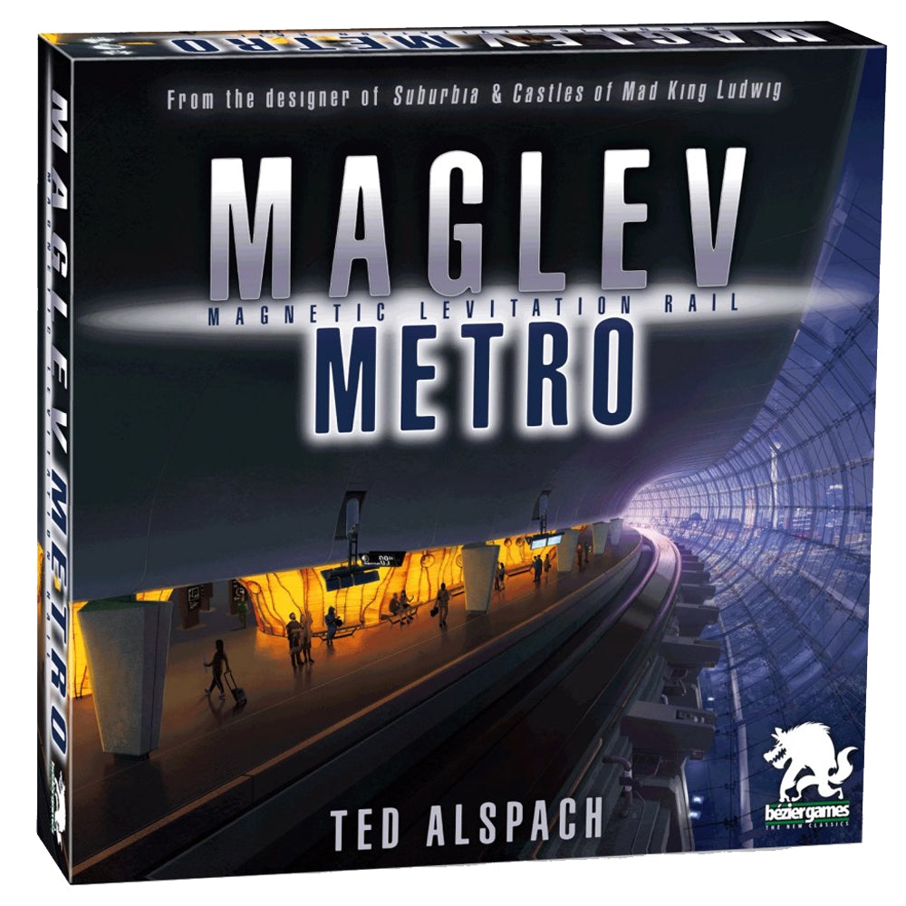 Maglev Metro board game