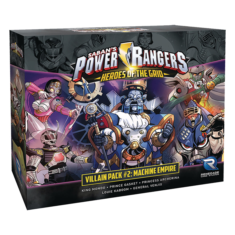 Power Rangers: Heroes of the Grid - Villain Pack 2: Machine Empire board game