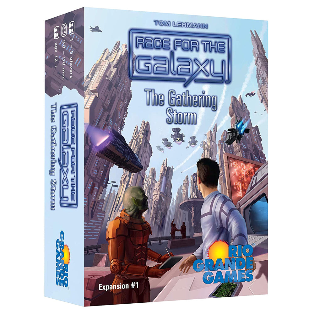 Race for the Galaxy: The Gathering Storm board game